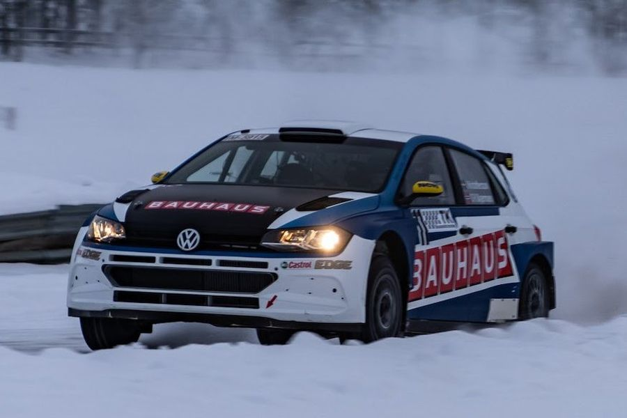 Johan Kristoffersson, VW Polo GTI R5, Romjulsrally