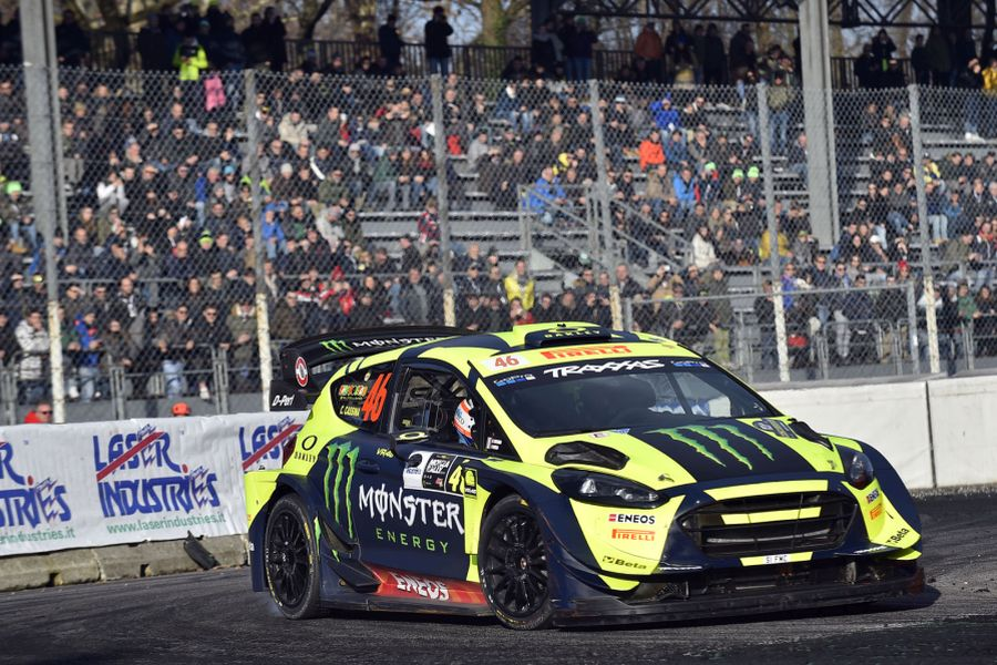 Monza Rally Show, Valentino Rossi