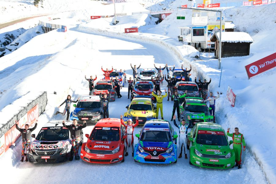 The new season of the Andros Trophy ice racing championship started at Val Thorens