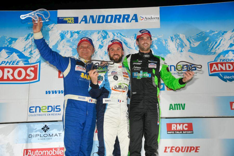 Trophee Andros Andorra Race2 podium