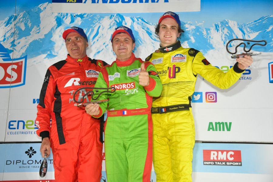 Trophee Andros Round 2 Andorre podium