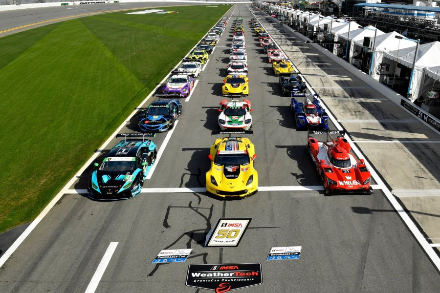 2019 Daytona 24 Hours cars