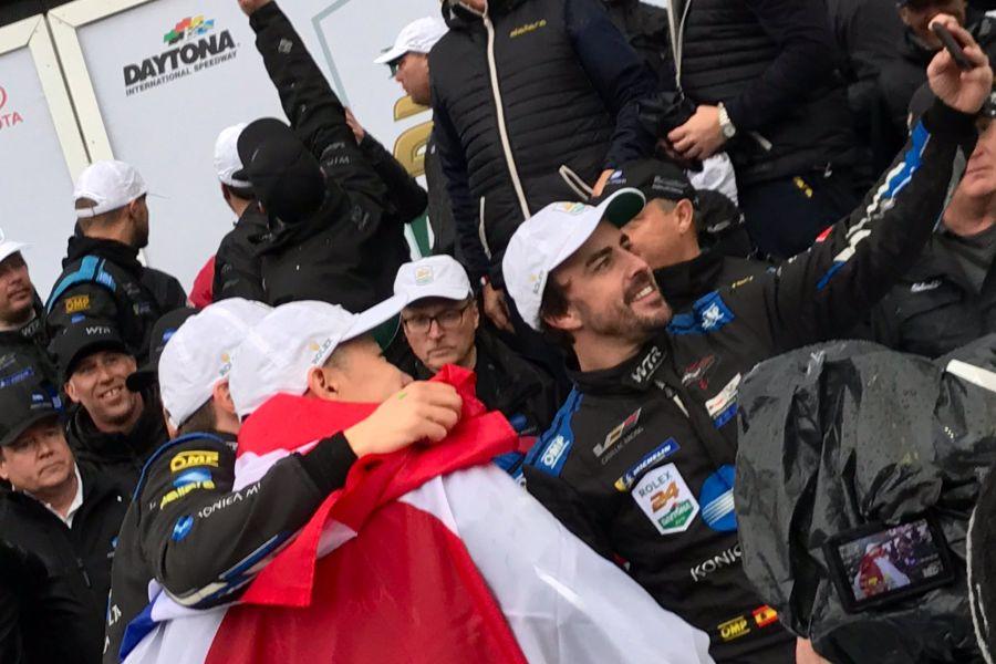 Fernando Alonso Daytona 24