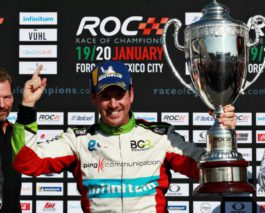 Mexican fiesta at Race of Champions, victory for Benito Guerra
