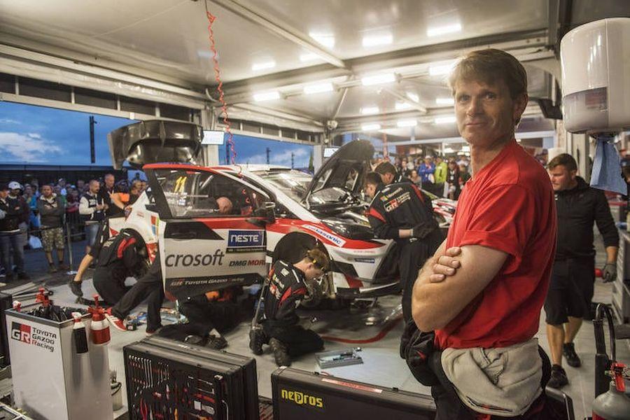 Marcus Gronholm Toyota Yaris WRC