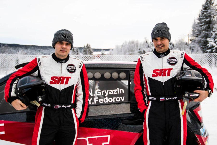 Nikolay Gryazin and Yaroslav Fedorov are the winners of 2019 Sigdalsrally