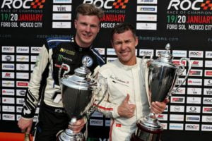 ROC Mexico Nations Cup Johan Kristoffersson and Tom Kristensen