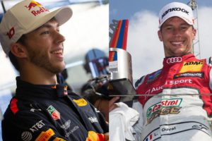 Pierre Gasly, Loic Duval, Team France, 2019 Race of Champions