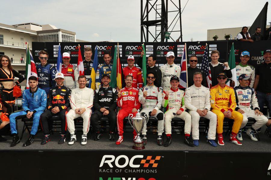 2019 Race of Champions, Foro Sol, Mexico City, Mexico.