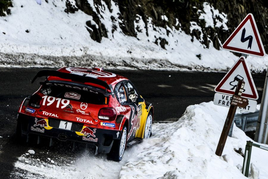 2019 Rally Monte Carlo, Sebastien Ogier, Citroen C3 WRC