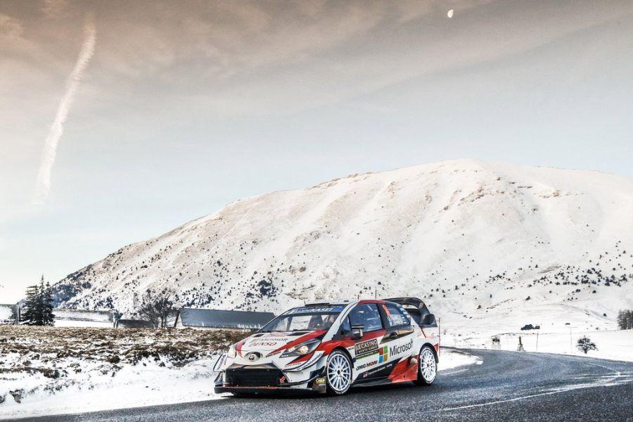 Ott Tanak Toyota Rallye Monte Carlo