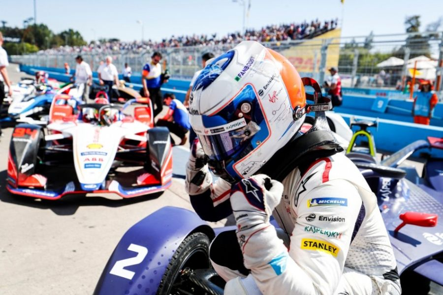 Formula E Santiago ePrix Sam Bird (Virgin Racing)