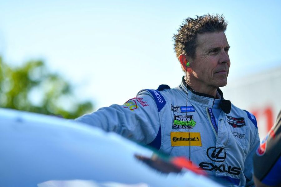 American sportscar racing legend Scott Pruett