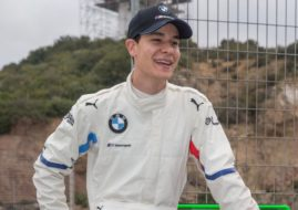 Sheldon van der Linde BMW
