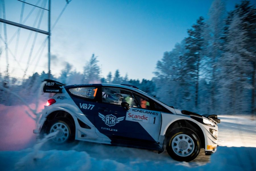 Valtteri Bottas Lapland Rally