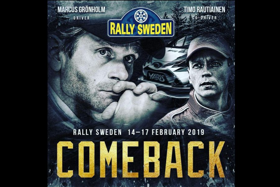 Marcus Gronholm, Timo Rautianinen, 2019 Rally Sweden