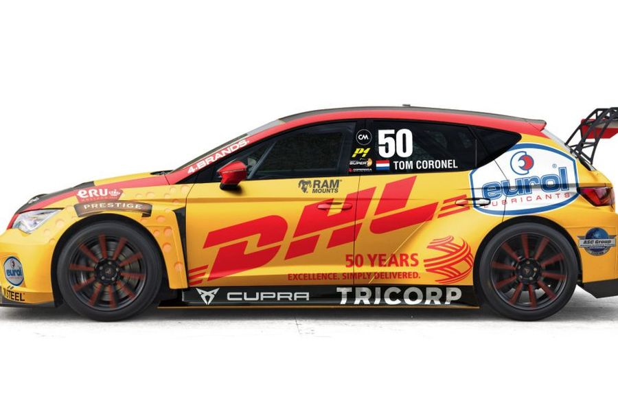 Tom Coronel #50 Cupra TCR