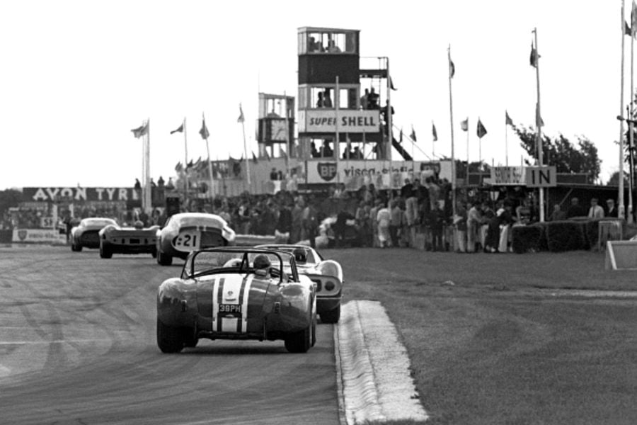 Last World Sportscar event at Goodwood - 1964 RAC Tourist Trophy