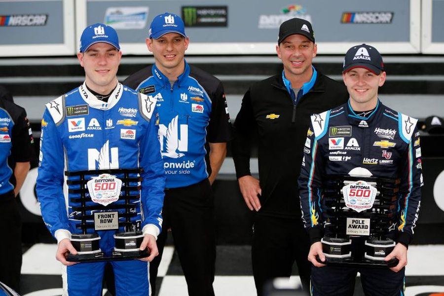 2019 Daytona 500 qualifying,Alex Bowman and William Byron