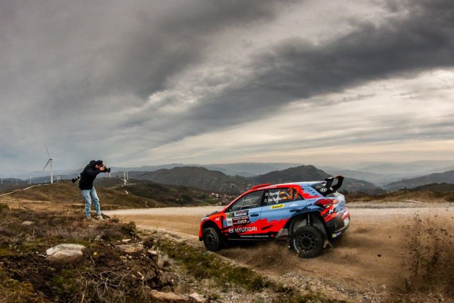 Dani Sordo at Rallye Serras de Fafe