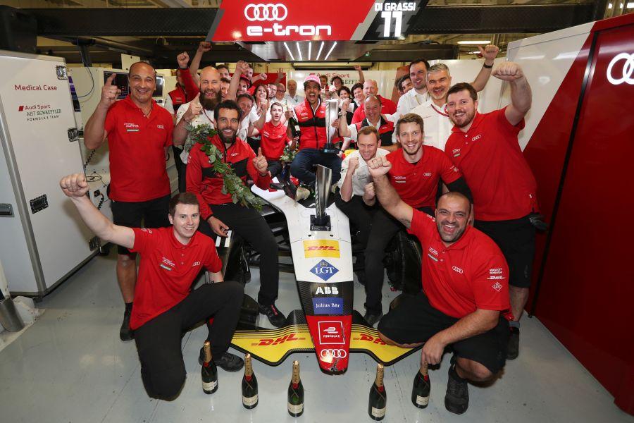 Formula E, Mexico City ePrix, Audi Sport ABT Schaeffler, Lucas di Grassi, Daniel Abt