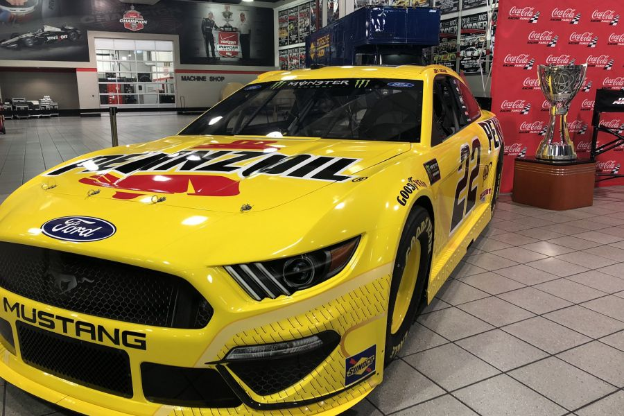 Joey Logano's #22 Ford Mustang