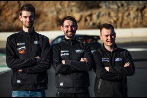 Grönholm RX, GRX drivers Niclas Grönholm, Timur Timerzyanov, Reinis Nitiss