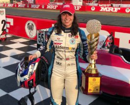 Historical MRF Challenge title for Jamie Chadwick