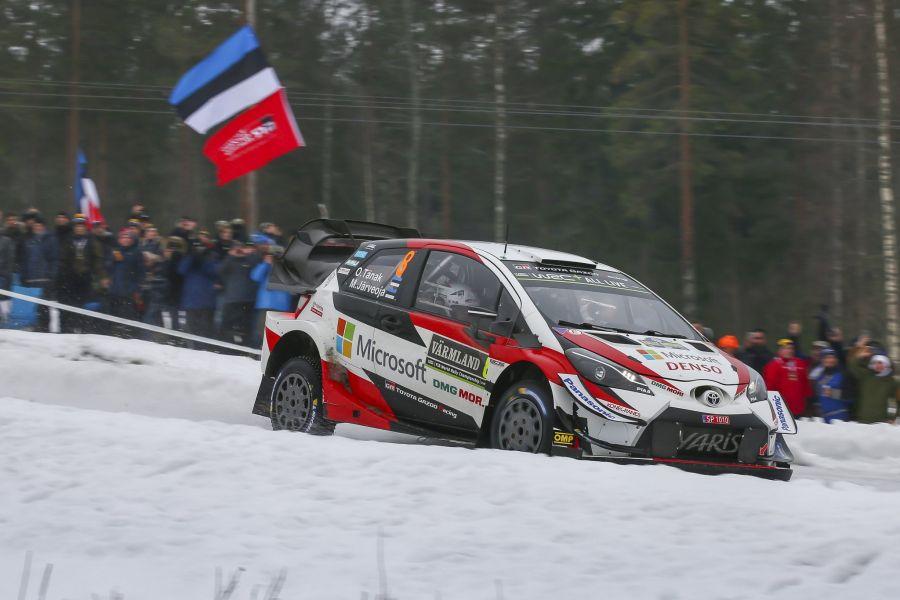 Ott Tanak Rally Sweden