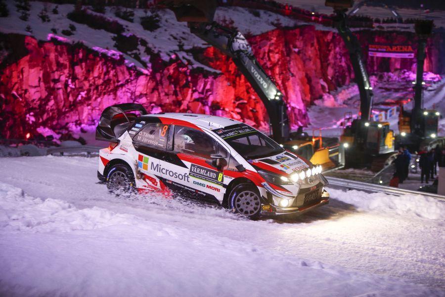 2019 Rally Sweden, Ott Tanak, Toyota Yaris WRC
