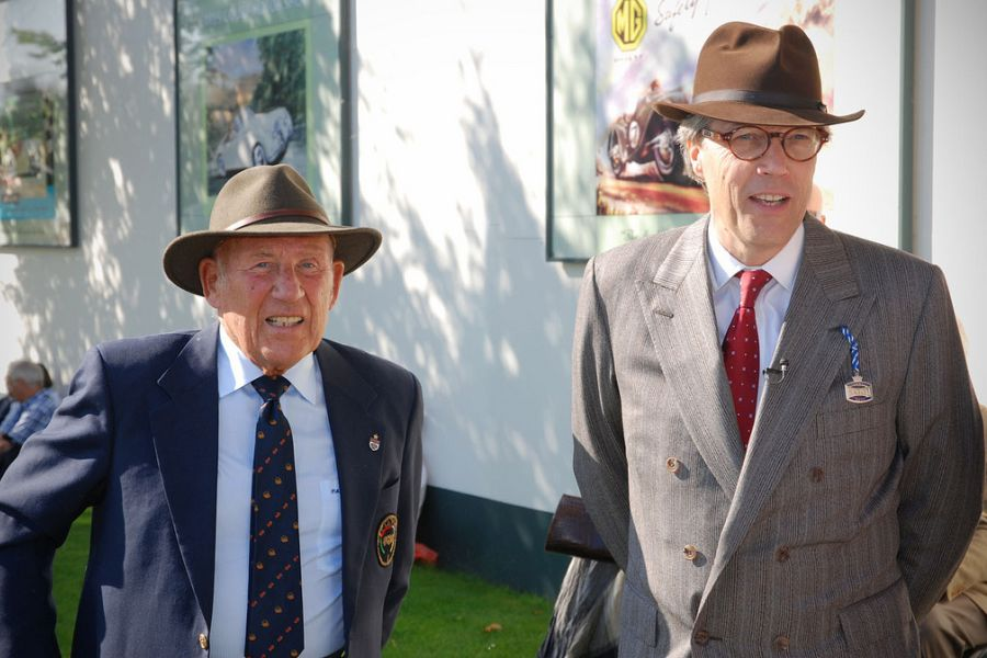 Sir Stirling Moss and Lord March