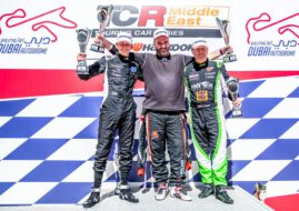 TCR Middle East finale at Dubao Autodrome