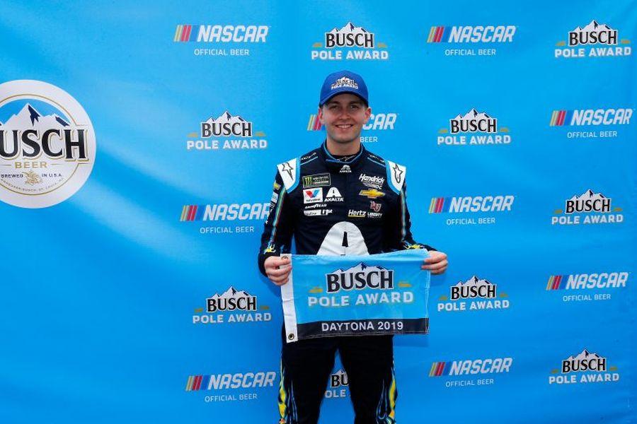 William Byron pole position 2019 Daytona 500