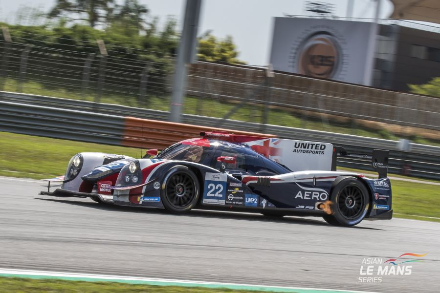 Asian Le Man Series Sepang International Circuit, Malaysia #22 United Autosports Ligier LMP2