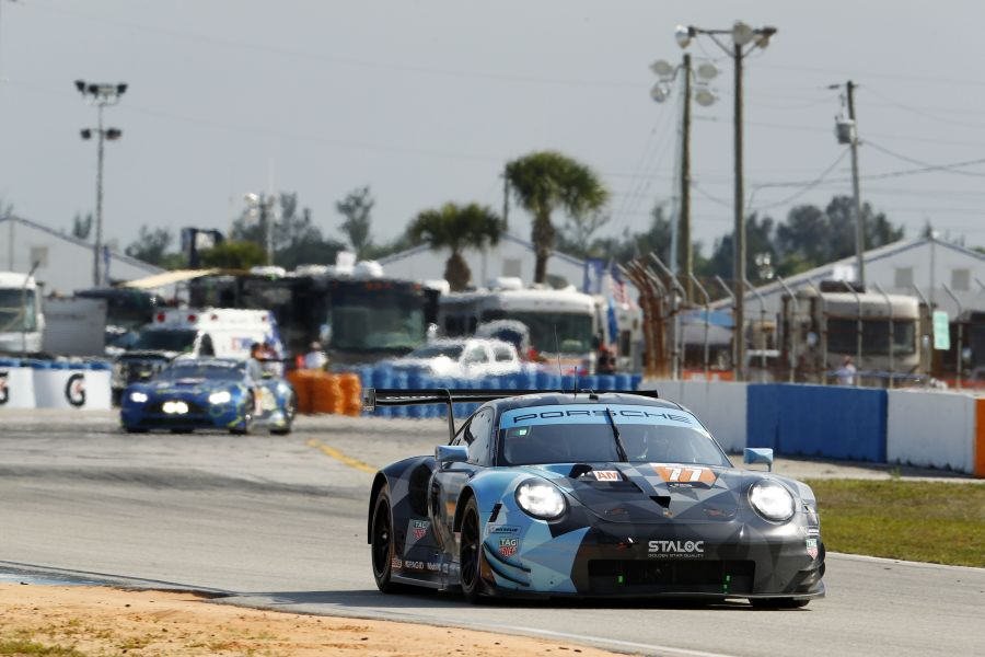 1000 Miles of Sebring, fourth victory in GTE Am class for the #77 Porsche 911 RSR