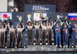 1000 Miles of Sebring podium