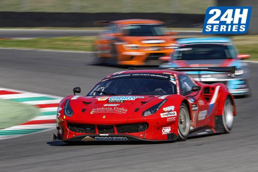 2019 12H Mugello, #11 Scuderia Praha Ferrari 488 GT3