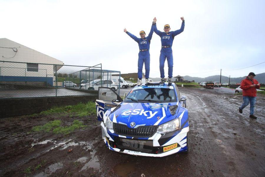 European Rally Championship, Azores Rallye, Lukasz Habaj