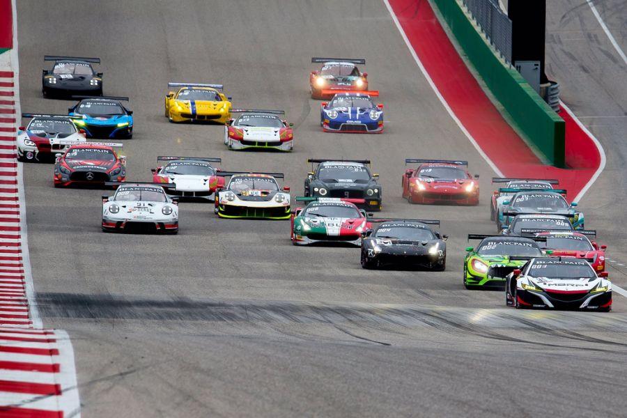 Blancpain GT World Challenge America, round 1, COTA