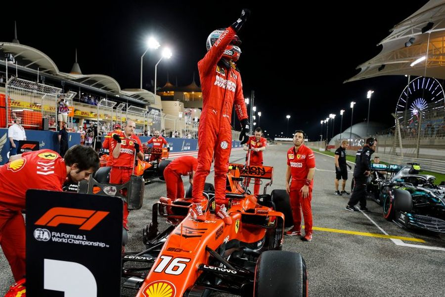 Charles Leclerc was the fastest qualifier at Bahrain