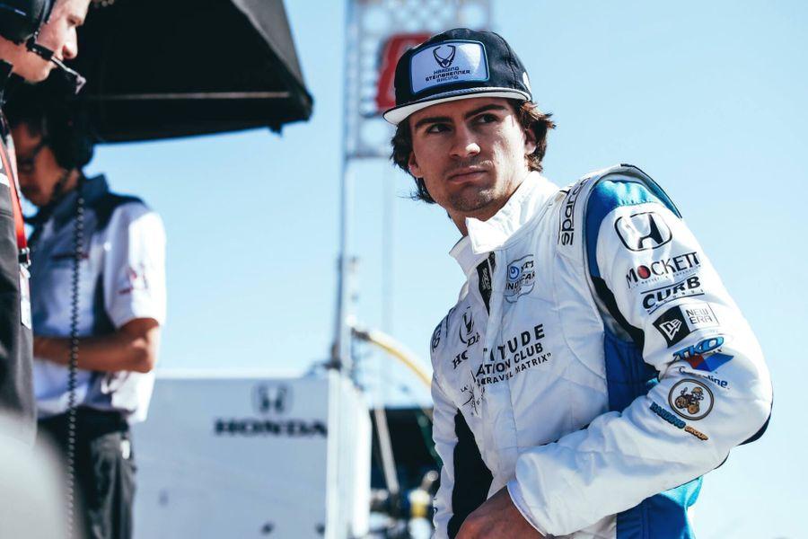 Colton Herta Harding Steinbrenner Racing
