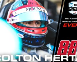 Colton Herta becomes the youngest ever IndyCar Series winner