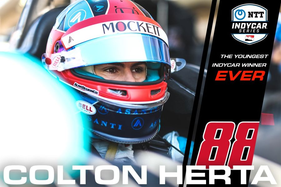 Colton Herta winner