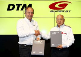 Gerhard Berger (ITR/DTM) and Masaaki Bandoh (GTA/Super GT)