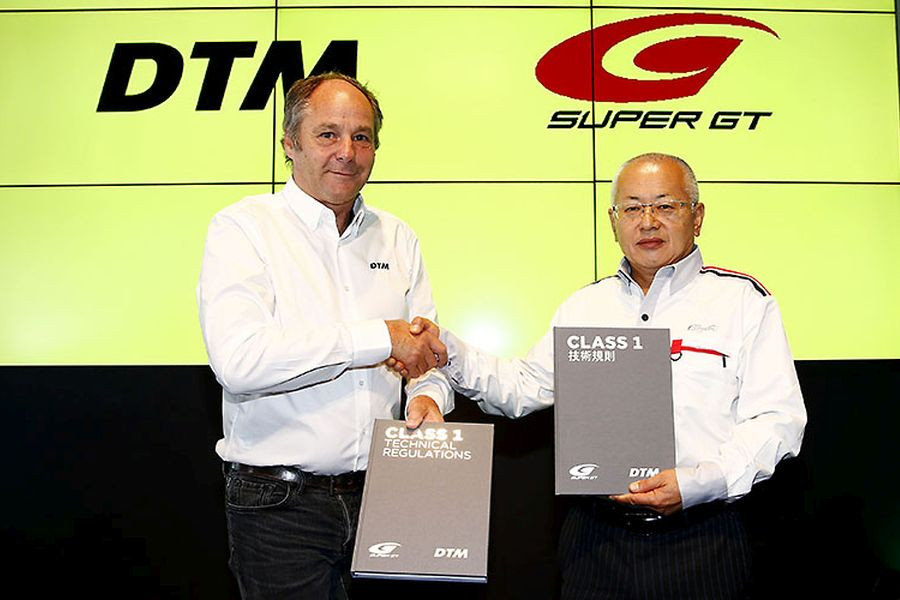 Gerhard Berger (ITR/DTM) and Masaaki Bandoh (GTA/Super GT)
