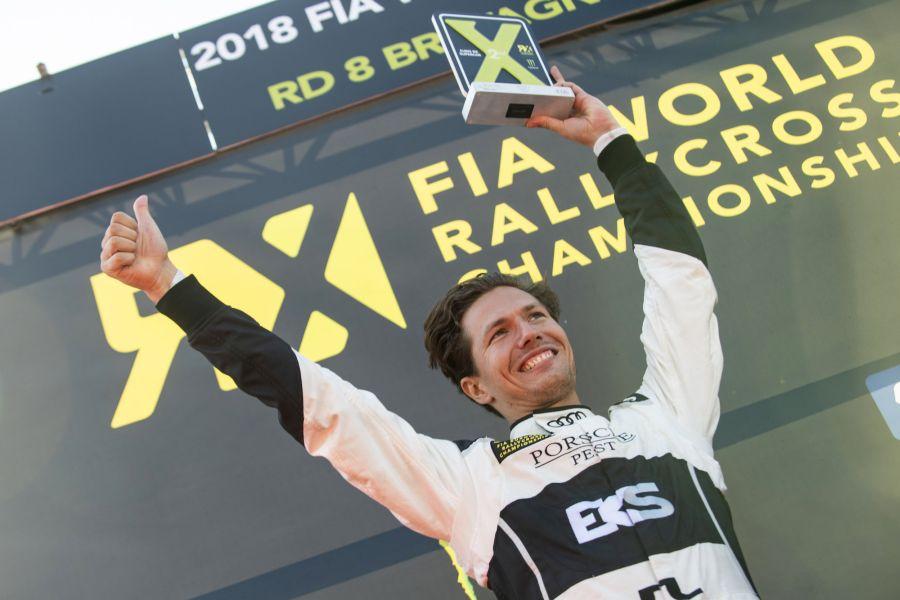 Krisztian Szabo is a two-time European rallycross champion in S1600 class