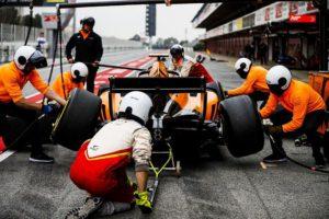 Formula 2 test Barcelona
