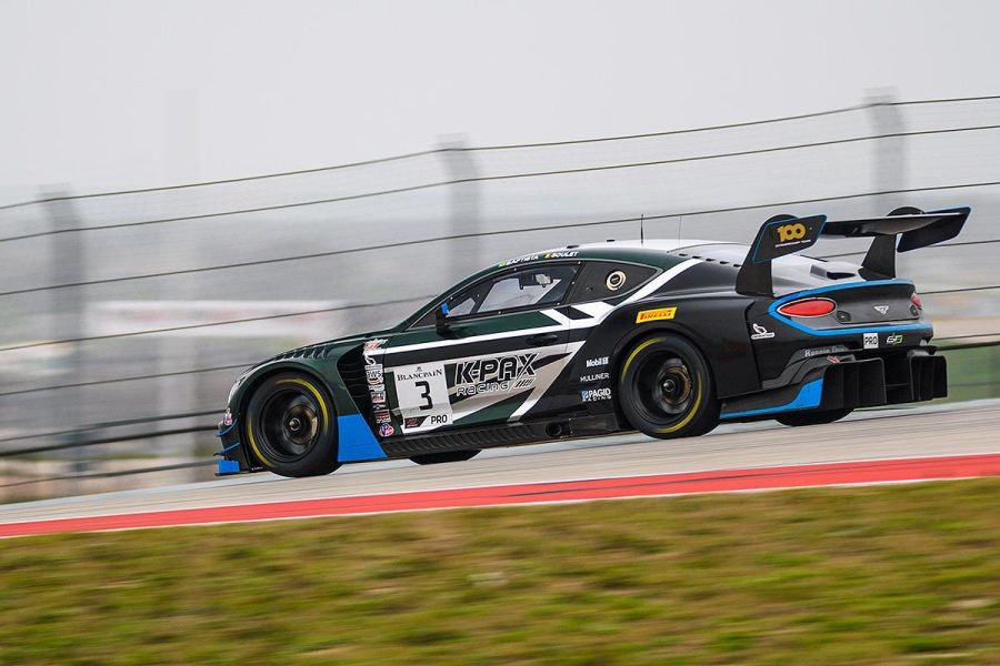 K-PAX Racing #3 Bentley Continental GT3
