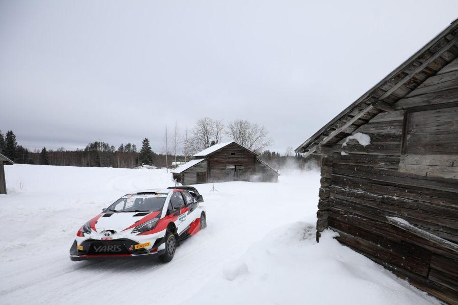 Takamoto Katsuta, Toyota Yaris WRC, Itaralli