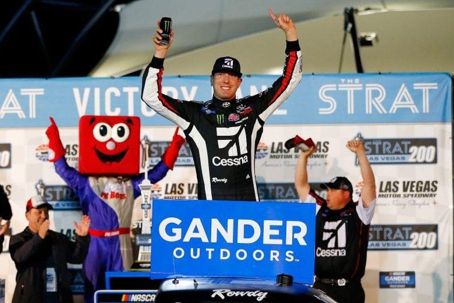 Kyle Busch Truck Series win Las Vegas